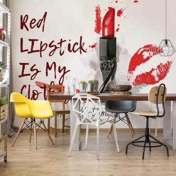 Lipstick Photo Wallpaper Wall Mural