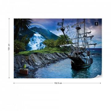 Old Sailing Ship Photo Wallpaper Wall Mural