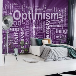 Optimism Purple Photo Wallpaper Wall Mural