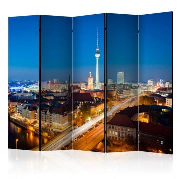 Paravan - Berlin by night II [Room Dividers]