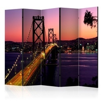 Paravan - Charming evening in San Francisco II [Room Dividers]