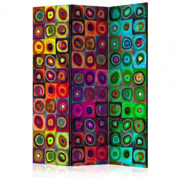 Paravan - Colorful Abstract Art  [Room Dividers]