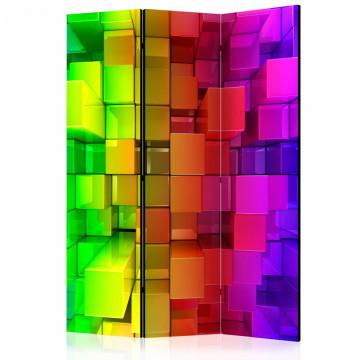 Paravan - Colour jigsaw [Room Dividers]