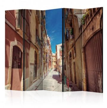 Paravan - Summer Street II [Room Dividers]