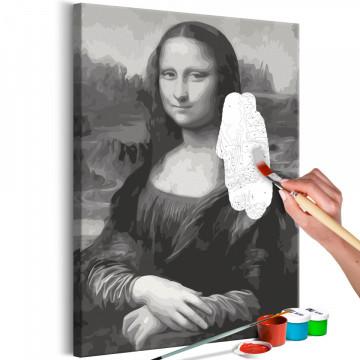Pictatul pentru recreere - Black and White Mona Lisa
