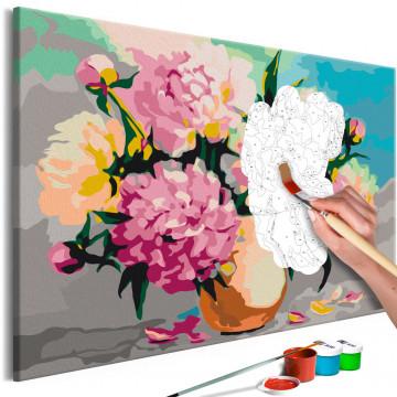 Pictatul pentru recreere - Flowers in Vase