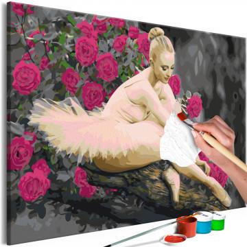 Pictatul pentru recreere - Rose Ballerina