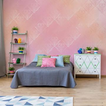 Pink Abstract Texture Photo Wallpaper Wall Mural