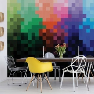 Pixel Pattern Colourful Photo Wallpaper Wall Mural