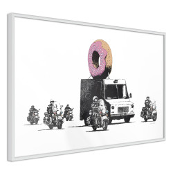 Poster - Banksy: Donuts (Strawberry)
