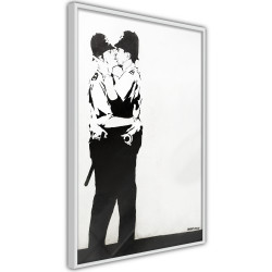 Poster - Banksy: Kissing Coppers II