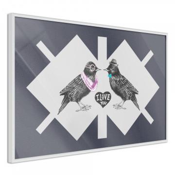 Poster - Bird Love
