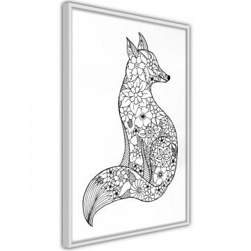 Poster - Openwork Fox