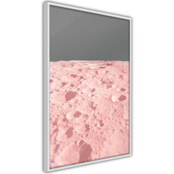 Poster - Pastel Craters