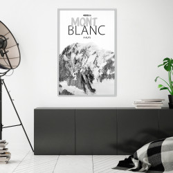 Poster - Peaks of the World: Mont Blanc