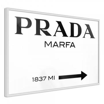 Poster - Prada (White)