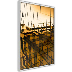 Poster - Steel and Glass (Yellow)
