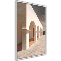 Poster - Sunny Colonnade