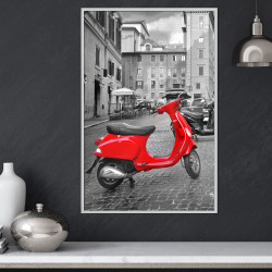 Poster - The Most Beautiful Scooter