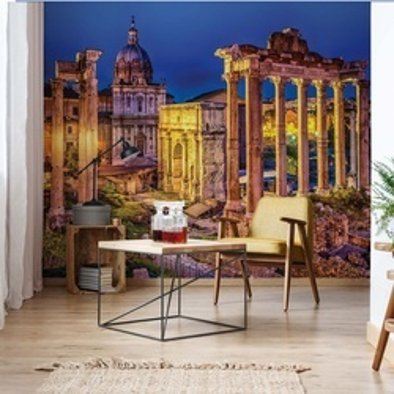 Roman Forum Rome Ancient Ruins Photo Wallpaper Wall Mural