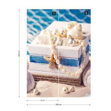 Sea Shells Beach Photo Wallpaper Wall Mural