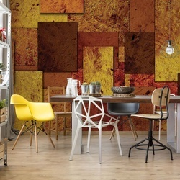 Squares Modern Design Photo Wallpaper Wall Mural
