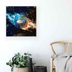 Stars & Space Canvas Photo Print