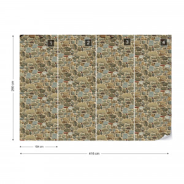 Stone Wall Texture Photo Wallpaper Wall Mural