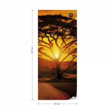 Sunset Landscape Photo Wallpaper Wall Mural