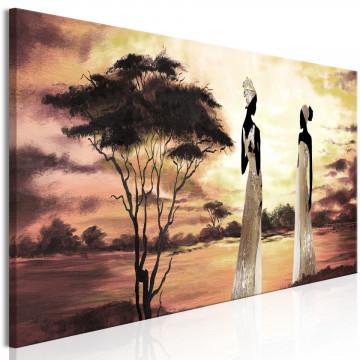 Tablou - African Goddesses (1 Part) Narrow