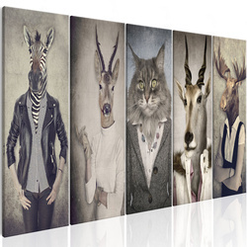 Tablou - Animal Masks I