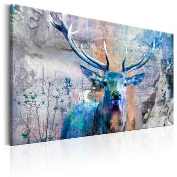 Tablou - Blue Deer