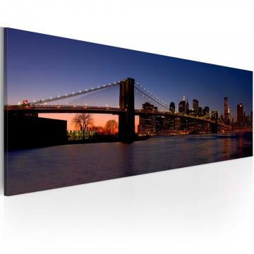 Tablou - Brooklyn Bridge - panorama