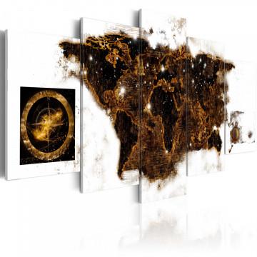 Tablou - Brown map
