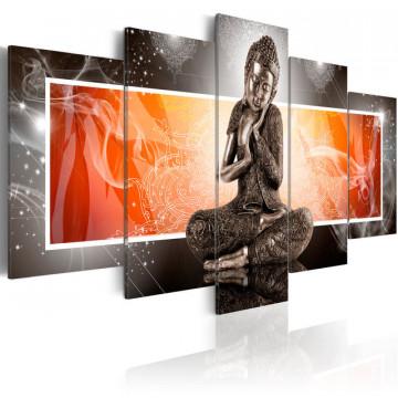 Tablou - Buddha and ornaments