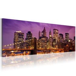 Tablou - Canvas print - Night in New York