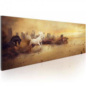 Tablou - City of stallions