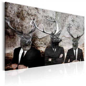 Tablou - Deer in Suits