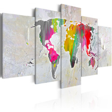 Tablou - Illustration of the World