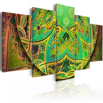 Tablou - Mandala: Green Energy