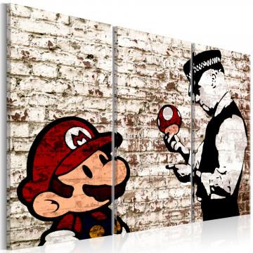 Tablou - Mario Bros: Torn Wall