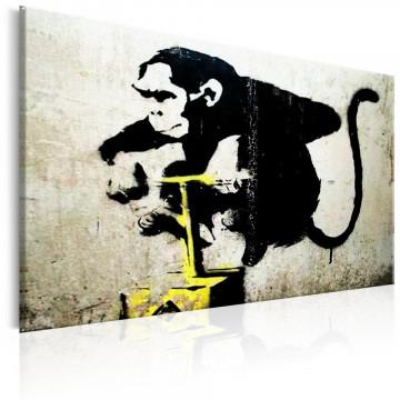 Tablou - Monkey Detonator by Banksy