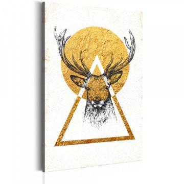 Tablou - My Home: Golden Deer