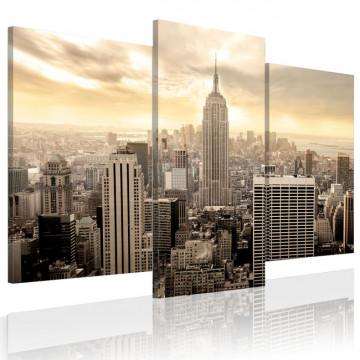 Tablou - New York at dusk