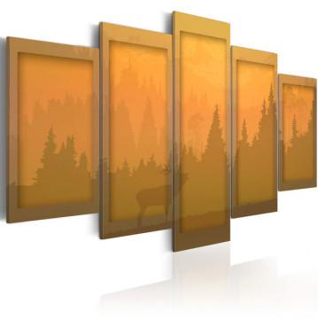 Tablou - orange  landscape