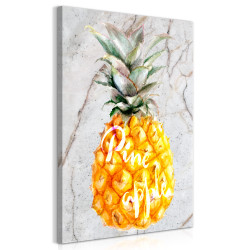 Tablou - Pineapple and Marble (1 Part) Vertical