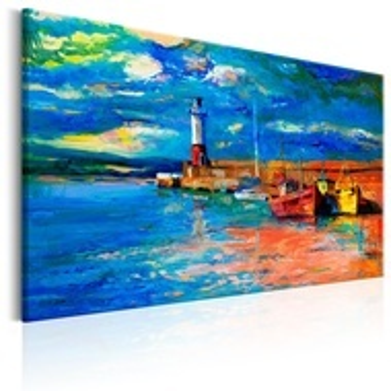 Tablou - Seaside Landscape: The Lighthouse