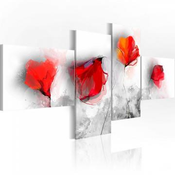 Tablou - Sentimental poppies