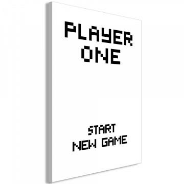 Tablou - Start New Game (1 Pat) Vertical