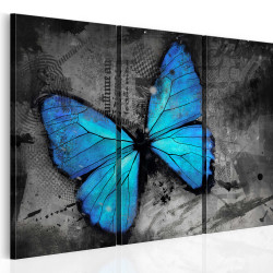 Tablou - The study of butterfly - triptych